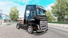 La piel Punisher para el camión Volvo FH-serie