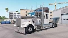 La piel Maestro Gris en el camión Kenworth W900