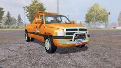 Dodge Ram 3500 Club Cab wrecker para Farming Simulator 2013