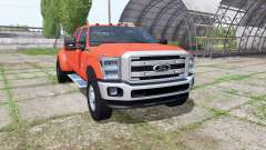 Ford F-350 Super Duty Crew Cab 2014 para Farming Simulator 2017