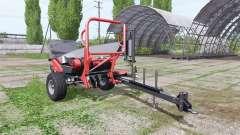 URSUS Z-586 black bale para Farming Simulator 2017