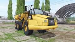 Caterpillar 745C para Farming Simulator 2017