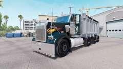 Kenworth W900 dump truck v1.1 para American Truck Simulator