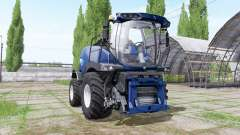New Holland FR850 blue power para Farming Simulator 2017