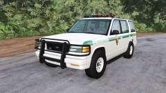 Gavril Roamer U.S. Park Ranger para BeamNG Drive