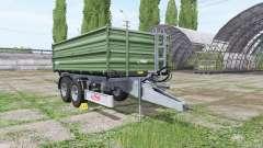 Fliegl TDK 160 v3.0 para Farming Simulator 2017