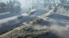 Zaton de la Zona de la antigua granja del tanque para MudRunner