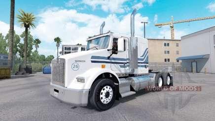 MTV piel para Kenworth T800 camión para American Truck Simulator