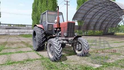 Bielorruso MTZ 82 v3.3 para Farming Simulator 2017