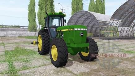 John Deere 4560 v1.3 para Farming Simulator 2017