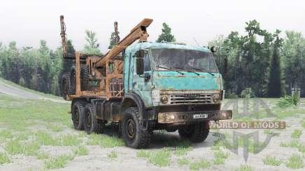 KamAZ-53504 v1.Seis para Spin Tires