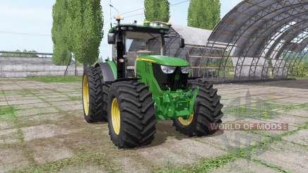 John Deere 6175R v2.1 para Farming Simulator 2017