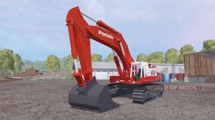 Poclain 400CK para Farming Simulator 2015