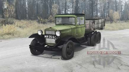GAZ AAA 1934 para MudRunner