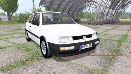 Volkswagen Golf (Typ 1H) 1995 v2.0 para Farming Simulator 2017