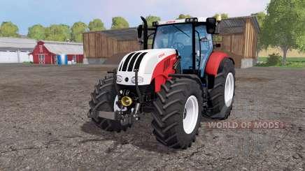 Steyr 6230 CVT front loader para Farming Simulator 2015