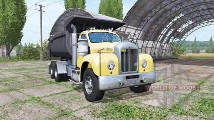 Mack B61 dump truck para Farming Simulator 2017