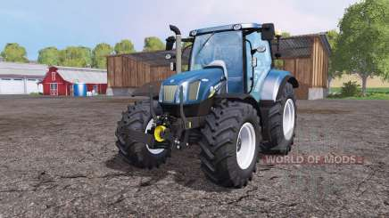 New Holland T6.160 front loader para Farming Simulator 2015