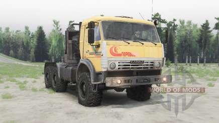 KamAZ-53504 v1.Cinco para Spin Tires