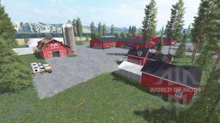 La American farm v3.0 para Farming Simulator 2017