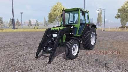 Deutz D 62 07 C front loader para Farming Simulator 2013