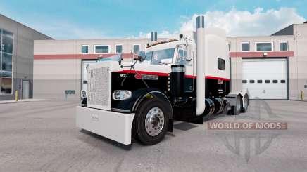 Скин Pyle Transporte Inc. на Peterbilt 389 para American Truck Simulator