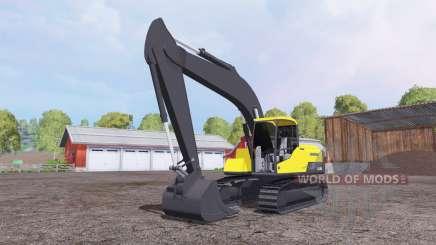 Volvo EC250D para Farming Simulator 2015