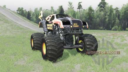 Maximum Destruction Bigfoot para Spin Tires