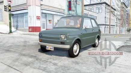 Fiat 126p v9.1 para BeamNG Drive