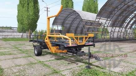 Warfama T-127 v1.1 para Farming Simulator 2017