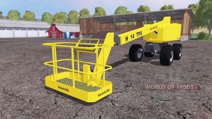 Haulotte H14 TX v3.0 para Farming Simulator 2015