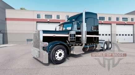 La piel Metálica que se pueden Pintar para que el camión Peterbilt 389 para American Truck Simulator