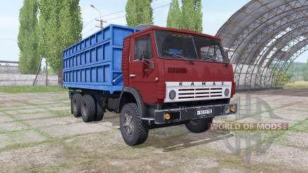 KamAZ 55102 v2.Cero para Farming Simulator 2017