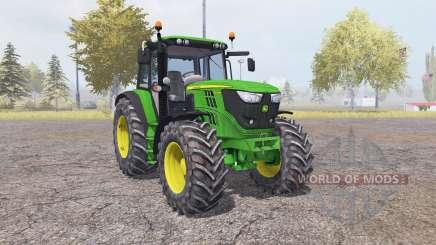 John Deere 6150M v2.0 para Farming Simulator 2013