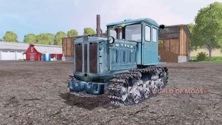 T 74 para Farming Simulator 2015