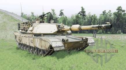 M1A1 Abrams para Spin Tires