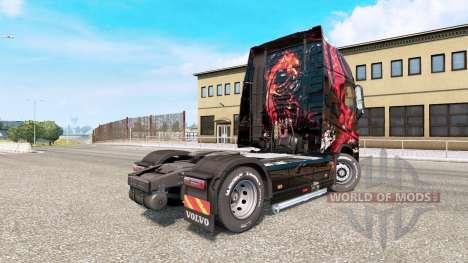 MSI Gaming de la piel para el camión Volvo FH serie para Euro Truck Simulator 2