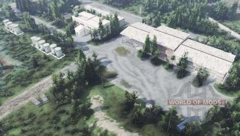 Abandonada base militar de v1.1 para Spin Tires