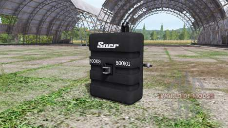 Weight Suer para Farming Simulator 2017
