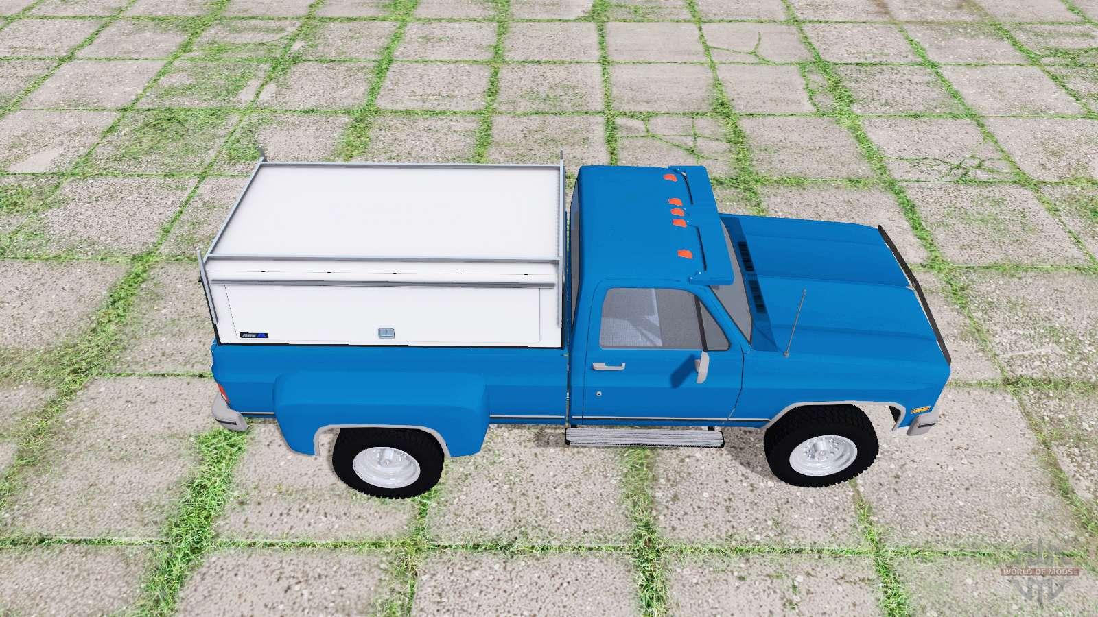 Chevrolet K30 1984 v1 1 para Farming Simulator 2017