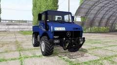 Mercedes-Benz Unimog U1200 v3.0 para Farming Simulator 2017