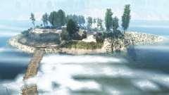 La costa del río