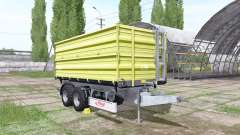 Fliegl TDK 255 light green para Farming Simulator 2017