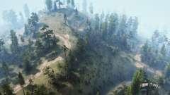 Los senderos de la montaña