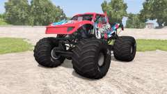 CRD Monster Truck v1.14 para BeamNG Drive