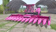 New Holland CR10.90 pink para Farming Simulator 2017
