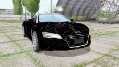 Audi R8 V10 Spyder 2012 Black Rift