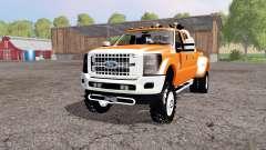 Ford F-450 Super Duty Platinum Crew Cab 2013 para Farming Simulator 2015