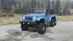 Jeep Wrangler (JK) 6x6 turbo para MudRunner