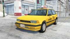 Ibishu Covet New York Taxi v0.12 para BeamNG Drive